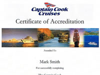 Captain Cook Accreditation