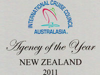 International Cruise Council Australasia Agency of the Year