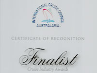 International Cruise Council Australasia Consultant of the Year