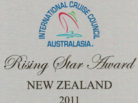 International Cruise Council Australasia Rising Star of the Year